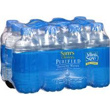 Purifying Drinking Water Sams Choice Purified Drinking Water 10 Fl Oz 12 Pack Walmartcom