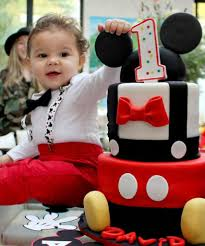 Mickey Mouse 1st Birthday Outfit Babys First Ideas Shirt Boy Poodle