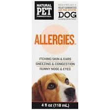Natural Pet Pharmaceuticals Allergies Dog Cat Homeopathic