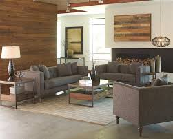 Industrial Style Living Room Furniture Coaster Ellery Sofa With Traditional Industrial Style Dunk