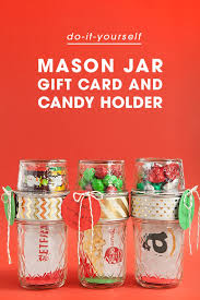 Decorating Mason Jars For Gifts Make Your Own Double Mason Jar Gift Card Holders 48