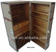 bar trunk furniture. jute rolling steamer trunk bar buy barvintage home furniture product on alibabacom
