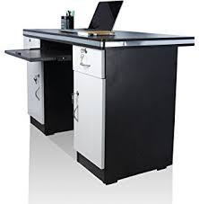 black office table. green soul tm study table computer in 4 feet x 2 size black office k