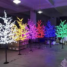 2019 outdoor use waterproof artificial 1 8m led cherry blossom tree lamp 864leds tree light for home festival decoration from belter