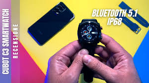 <b>CUBOT C3 Smartwatch</b> IP68 - TOP - Bluetooth 5.1 per Android e ...