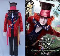 alice in wonderland 2 mad hatter cosplay costume costumes for carnival party cosplay