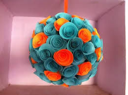 Flower Made In Paper Hand Made Paper Crafts