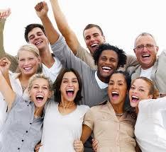 Resultado de imagen de imagen de gente sonriendo