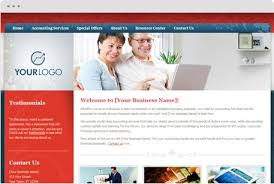 Website Builder Templates Beauteous Website Builder For Accountants CPA Website Design Templates