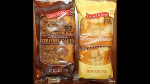 Hostess flavors and sizes are. Little Debbie Streusel Cakes Cinnamon Cream Cheese Review Youtube