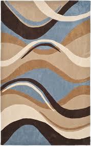 architecture brown and blue area rugs amazing com orian geometric divulge multi rug 5