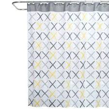 yellow shower curtains l fabric shower curtain mustard yellow fabric shower curtain