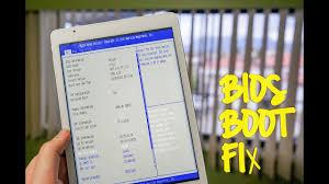 Fix <b>Teclast</b> X98 Pro boot stock on BIOS / <b>flash</b> BIOS update - YouTube