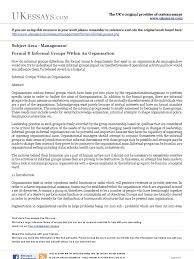 management essays formal and informal groups norm social management essays formal and informal groups norm social hospital