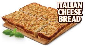 Little Caesars Pizza Italian Cheese Bread With Garlic Cream Cheese
