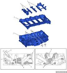 toyota ar series engines 1 camshaft bearing cap 2 camshaft housing 3 cylinder head 4 fuel injector low pressure 5 lash adjuster c intake port d water jacket