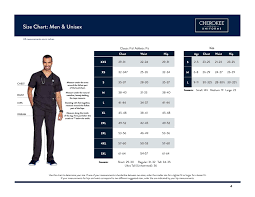 Scrubs And Uniform Fit Sizing Guides The Uniform Outlet