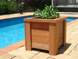 Decorative Planter Boxes Wooden Planter Boxes You Can Look Raised Wooden Planters You Can 60