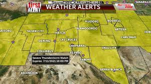 ABC-7 First Alert: Severe Thunderstorm ...