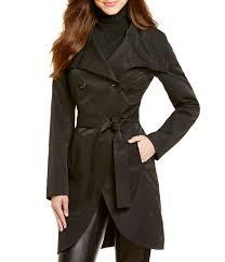 black trench coats