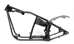 softail bobber 200 wide custom frame for harley davidson evo motor