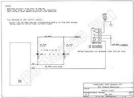 connection drawings shift light wiring