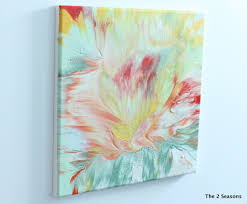 Painting Canvas 12 Creative Projects To Use Your Leftover Paint Modern Art