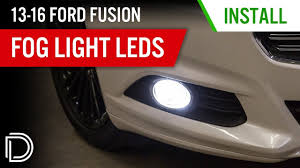 2010 Ford Fusion Fog Light Trim Top Led Lighting Upgrades For The 2013 2019 Ford Fusion