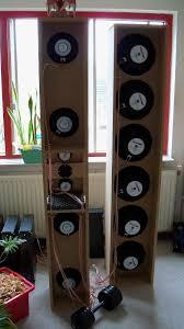 the gate 4 tower open baffle speaker system main sub back jpg