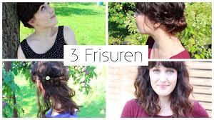 3 Frisuren F R Mittellange Haare I Schnell Einfach Elegant Boho
