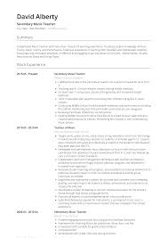Sample Musician Resume Music Teacher Resume Samples And Templates Visualcv