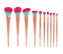 gwa rainbow collection makeup brushes