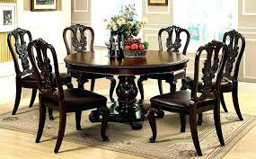 6 person circular table 6 person table round 6 person dining table dining room round dining