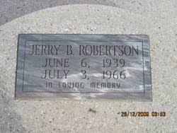 Jerry Byron Robertson (1939-1966) - Find A Grave Memorial
