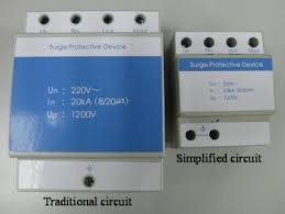 a circuit simplification for ac power supply surge protection figure 4 chassis sizes of traditional circuit and simplified circuit