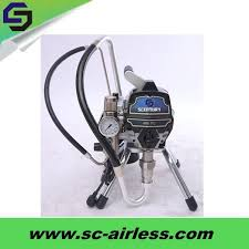china portable high pressure electric airless wall spray paint machine for st 495pc china electric airless paint sprayer paint sprayer