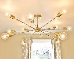 the shepard modern brass sputnik chandelier