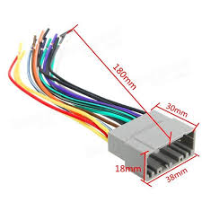 car radio stereo female wiring harness cable plug for chrysler What Is A Wiring Harness For Car Stereos car radio stereo female wiring harness cable plug for chrysler dodge jeep what is a wiring harness car audio