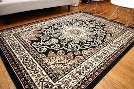 home decor plush rugs black white modern area grey and rug hand gold knotted circle go