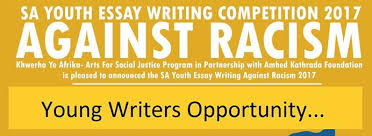 essay competition your take on racism n spice adishakti media