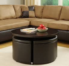 black round modern wood ottoman storage coffee table ikea design with regard to ottoman coffee table ikea