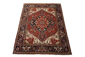 9x12 heriz serapi hand knotted persian vegetable dyed wool area rug oriental carpet 9 1 x 11 11