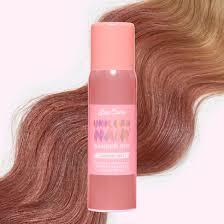Pink Hair Colour Chart Mauve Mist Hair Color Spray