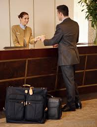 a hotel desk clerk must demonstrate strong communications skills in order to successfully interact with guests