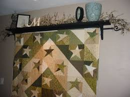 The 25+ best Quilt hangers ideas on Pinterest | Hanging quilts ... & Make a Quilt Hanger with Shelf YouCanMakeThis. Adamdwight.com