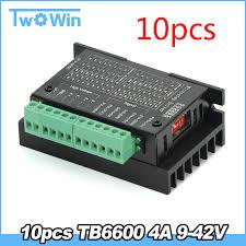 Updated version of TB6600 <b>Stepper Motor Driver</b> 4A 9~42V TTL 32 ...