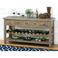 sofa table with wine storage. Sofa Table With Wine Rack Cute Storage Dining  W