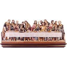 Ultima cena Leonardo scolpito in legno ⚒ Scultore Klaus ✓
