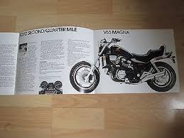 honda v65 magna brochure 1983 usa