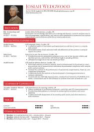 Resume Examples Resume Examples By Real People Graduate Accountant